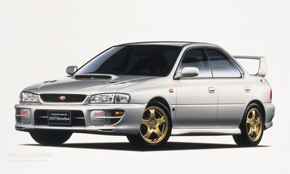 Subaru Impreza 1998 foto attēls