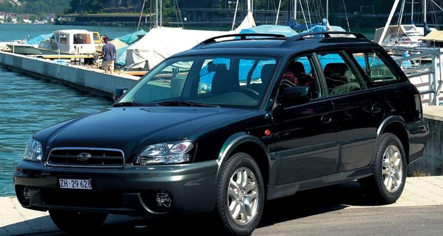 Subaru Outback Estate Car Wagon 2002 2003 Reviews Technical