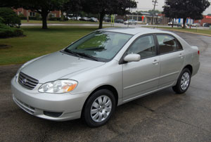 2005 Toyota Corolla Mpg >> Toyota Corolla Sedan 2003 2004 Reviews Technical Data Prices