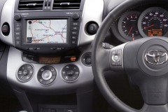 Toyota RAV4 dashboard (instrument panel)