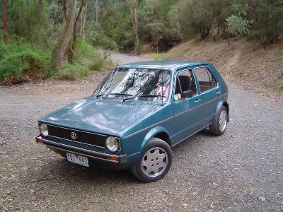 Volkswagen Golf 1981 foto attēls