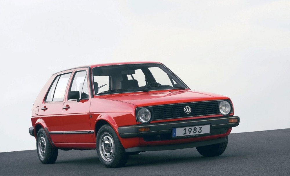 Volkswagen Golf 1983 foto attēls