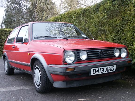 Volkswagen Golf 1986 foto attēls