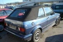 Volkswagen Golf kabrioleta foto attēls 7