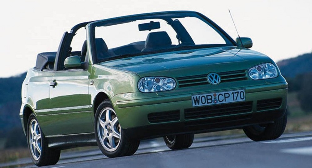 volkswagen golf cabrio 1998 2002 reviews technical data prices auto abc