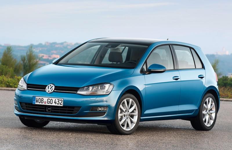 Volkswagen Golf 2012 foto attēls