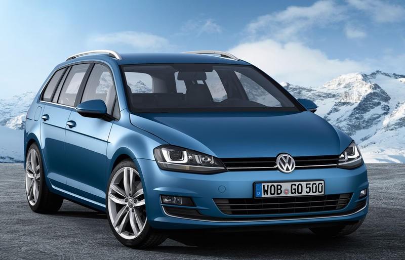 Volkswagen Golf 2013 foto attēls