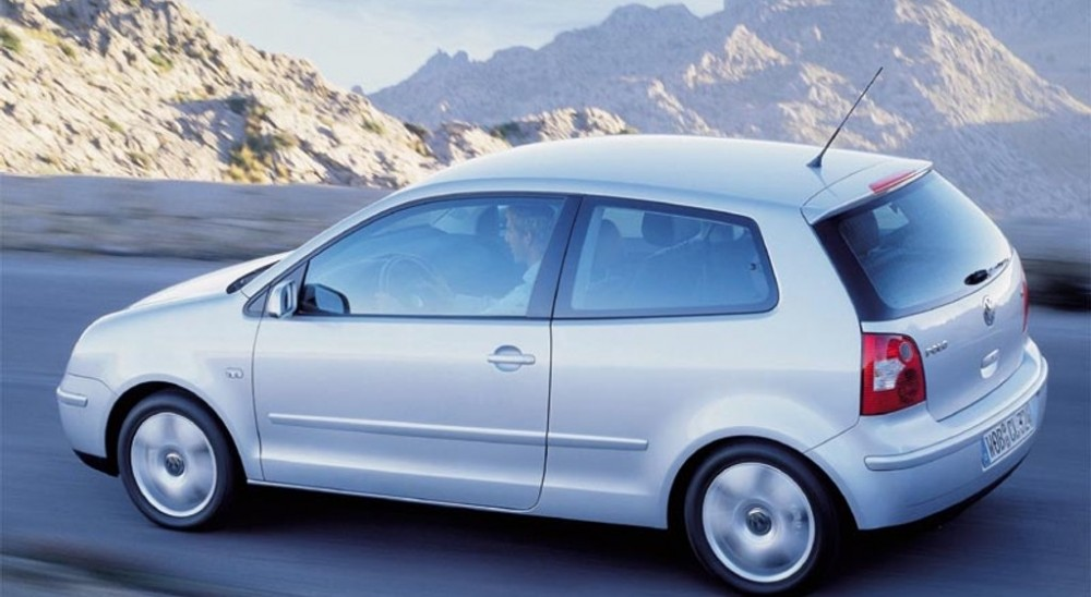 volkswagen polo 3 door hatchback 2001 2005 reviews technical data prices. Black Bedroom Furniture Sets. Home Design Ideas