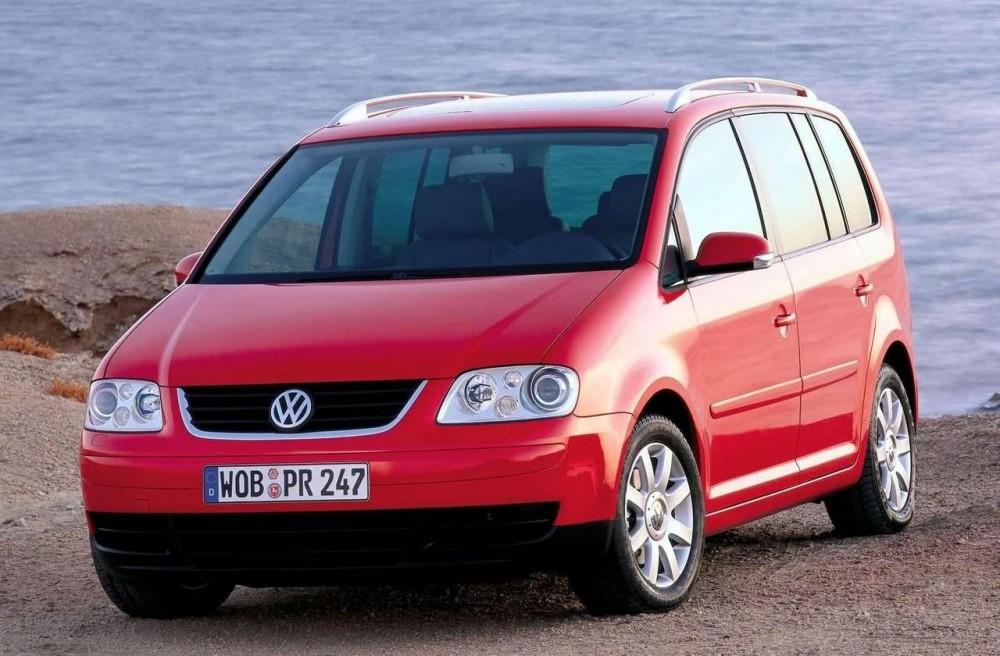 Volkswagen Touran 2003 foto attēls