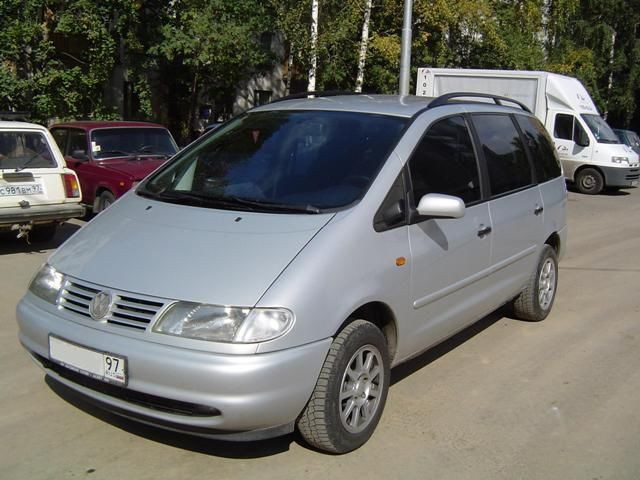 Volkswagen Sharan 1997 foto attēls