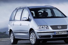 Volkswagen Sharan minivena foto attēls 2