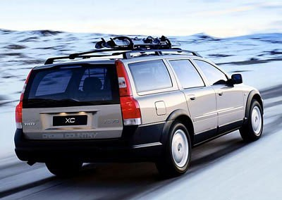 Volvo XC70 Estate car / wagon 2002 - 2004 reviews, technical