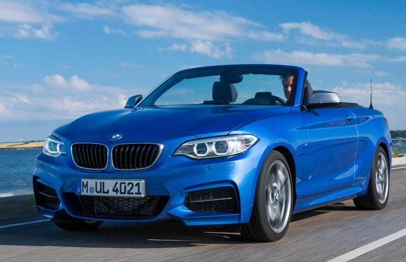 BMW 2 series F22/F23 Cabrio 2013 - technical data, prices