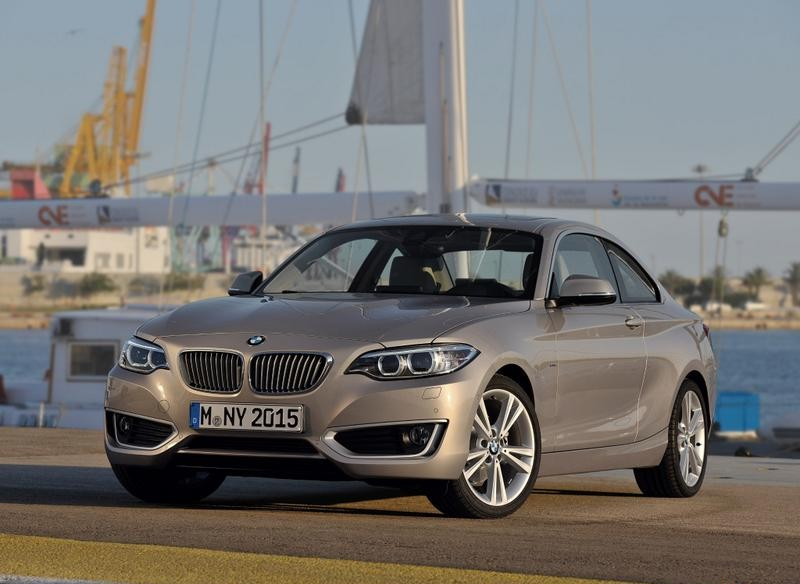 BMW 2 series F22/F23 Coupe 2013 - technical data, prices