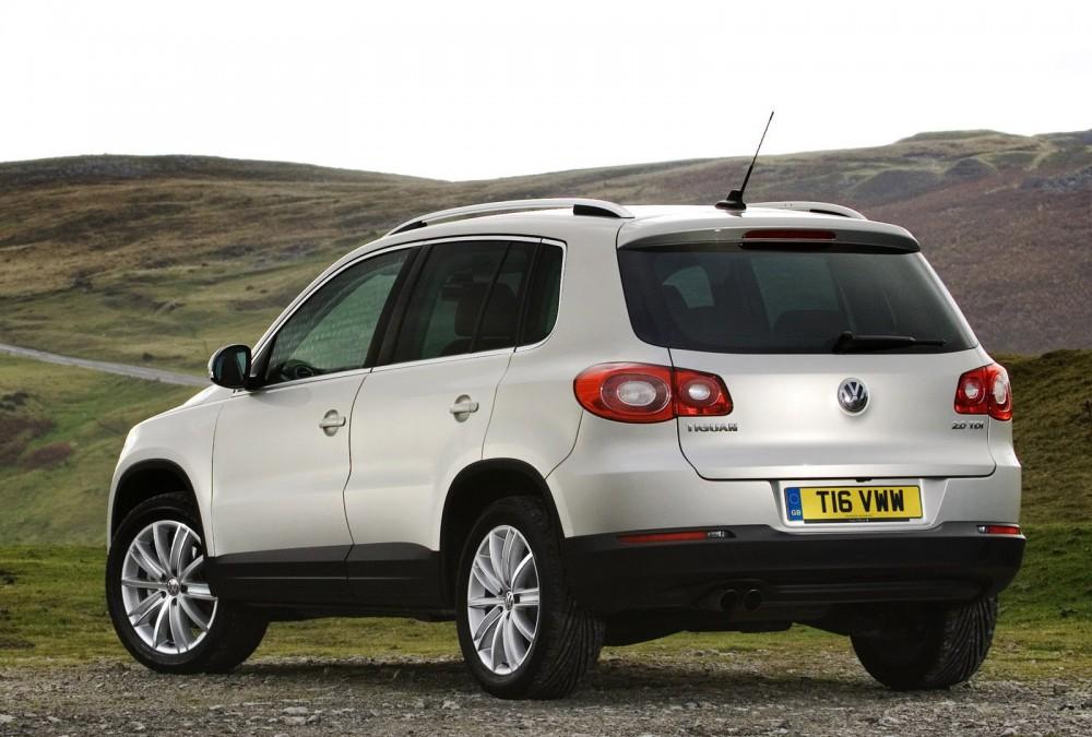 Volkswagen Tiguan 2007 - 2011 atsauksmes, tehniskie dati ...