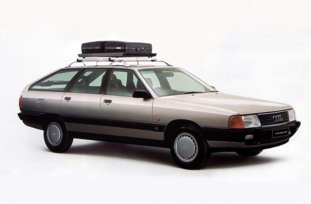 Audi 100 Estate car / wagon 1983 - 1988 reviews, technical data, prices