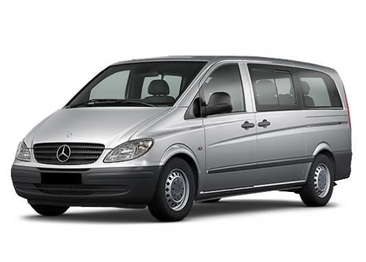 Mercedes Vito Minivan / MPV 2003 - 2010 reviews, technical data, prices