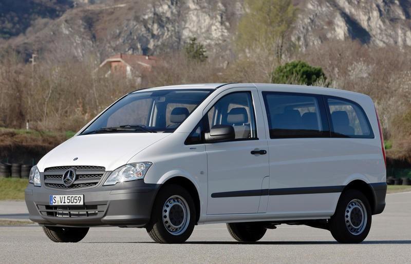 Mercedes Vito Minivan / MPV 2010 - reviews, technical data ...